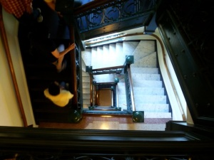 legislature stairs
