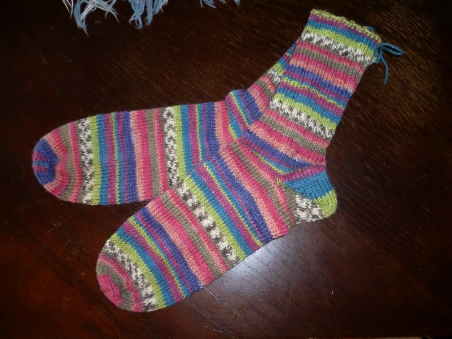 Trin socks finished